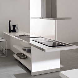 Velvet Profile I | Kitchen | Island kitchens | GeD Arredamenti Srl