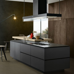 Artex | Island kitchens | Varenna Poliform