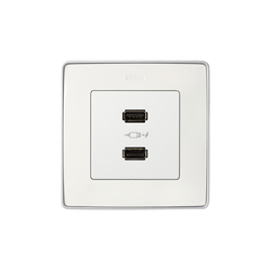 Detail 82 | Socket Double USB Charger | USB power sockets | Simon
