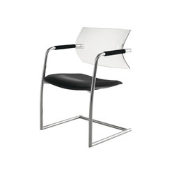Aire Jr. 406B | Visitors chairs / Side chairs | Luxy