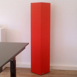 Sound Butler tcolumn TS35 red | Sound absorbing freestanding systems | Phoneon