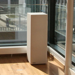 Sound Butler tbox TP35 white | Freestanding panels | Phoneon