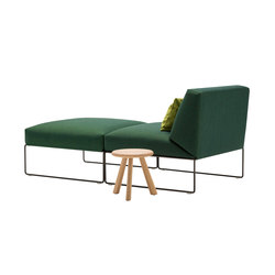 Siesta Indoor | Chaise longue | Andreu World