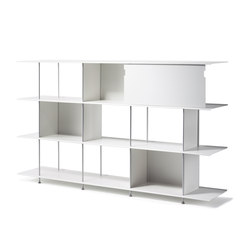 Zeta Aluminium | Office shelving systems | OXIT design