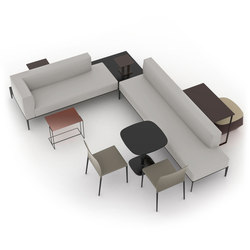 Jaan Bench | Modular seating systems | Walter Knoll