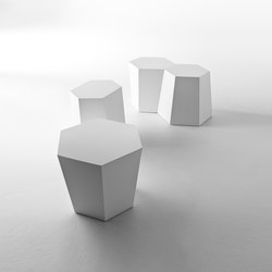 Hexagon sidetable | Tables d'appoint de jardin | HORM.IT