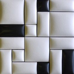 Round square model A | Ceramic tiles | Kenzan