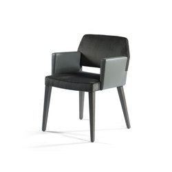 Vanessa Armchair P | Visitors chairs / Side chairs | Accademia