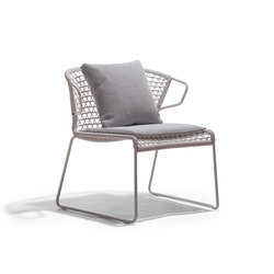 Vela Lounge LP | Garden armchairs | Accademia