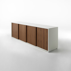 Oblique closed base | Sideboards | HORM.IT