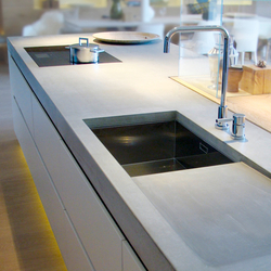 Concrete Kitchen | Design Example | Plans de travail de cuisine | Dade Design AG
