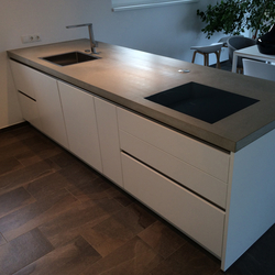 Concrete Kitchen | Design Example | Piani di lavoro | Dade Design AG