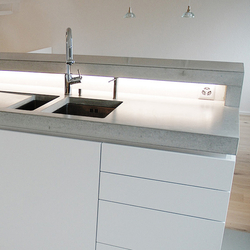 CONCRETE KITCHEN | DESIGN EXAMPLE - Countertops from Dade Design ... | {Küchenarbeitsplatte beton 10}