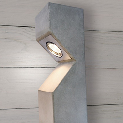 Concrete Light | Design Example | Garden lights | Dade Design AG