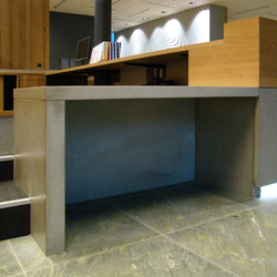 Corporate Concrete | Design Example | Tavoli da ingresso | Dade Design AG concrete works Beton