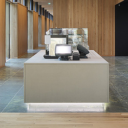 Corporate Concrete | Design Example | Reception desks | Dade Design AG