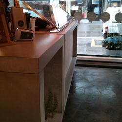 Corporate Concrete | Design Example | Banques d'accueil | Dade Design AG concrete works Beton