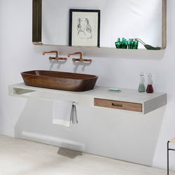 Concrete washbasins | Design Example | Lavabos | Dade Design AG concrete works Beton