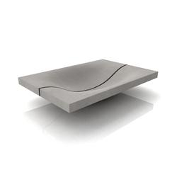 Wave Washbasin Mit Trennfuge | Lavabos | Dade Design AG concrete works Beton