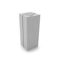 Wave Cubed Washbasin Mit Trennfuge | Wash basins | Dade Design AG concrete works Beton