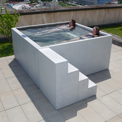 Concrete Whirlpool | Design Example | Outdoor whirlpools | Dade Design AG