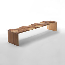Ripples bench | Waiting area benches | CASAMANIA-HORM.IT