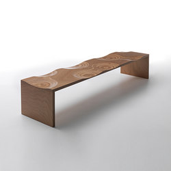 Ripples bench outdoor | Bancos | CASAMANIA-HORM.IT