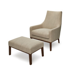 Miles armchair/footstool | Lounge chairs | Linteloo
