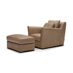 Sergio armchair/footstool | Lounge chairs | Linteloo