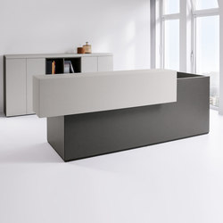 basic C Reception system | Reception desks | werner works