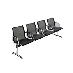 Nulite Bench 24000B | Beam / traverse seating | Luxy