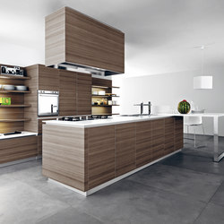 Ariel | Composition 9 | Fitted kitchens | Cesar Arredamenti