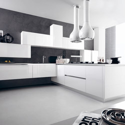 Ariel | Composition 10 | Fitted kitchens | Cesar Arredamenti