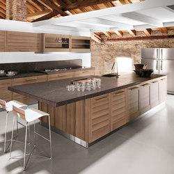 Fiamma | Kitchen | Cocinas isla | GeD Arredamenti Srl