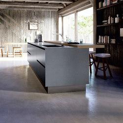 Velvet Profile C | Kitchen | Cocinas isla | GeD Arredamenti Srl