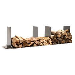wineTee® wood log holder XL | Fireplace accessories | lebenszubehoer by stef's