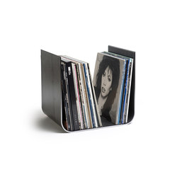 U-shaped vinyl record holder | Storage boxes | lebenszubehoer by stef's