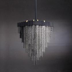 KELLY Chandelier - Steel | Ceiling suspended chandeliers | Gabriel Scott