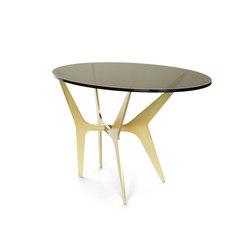 DEAN Oval Side Table - Brass | Side tables | Gabriel Scott