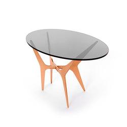 DEAN Oval Side Table - Copper | Side tables | Gabriel Scott