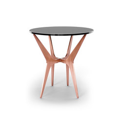 DEAN Oval Side Table - Copper | Side tables | Gabriel Scott