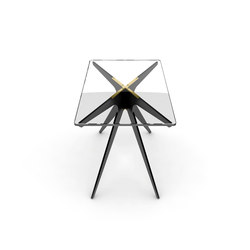 DEAN Rectangular Side Table | Mesas auxiliares | Gabriel Scott