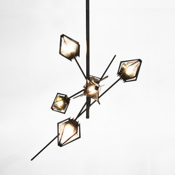HARLOW Small Chandelier | Lámparas de suspensión | Gabriel Scott