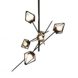 HARLOW Small Chandelier - Steel | General lighting | Gabriel Scott
