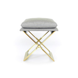 MARX Stool - Brass | Hocker | Gabriel Scott