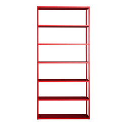 New Order Home Vertical Open Shelf | Regale | Hay