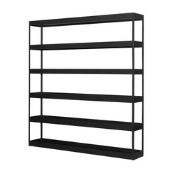 New Order Home Vertical Open Shelf with Trays | Estantería | Hay