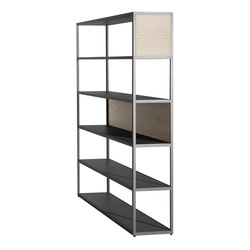 New Order Home Vertical Shelf With Panels | Shelving | Hay