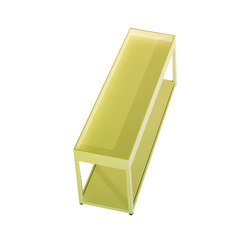 New Order Home Side Table with Top Tray | Aparadores | Hay