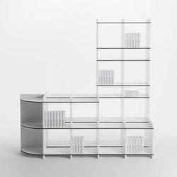 Carpon shelf-system | Sistemi scaffale ufficio | mocoba